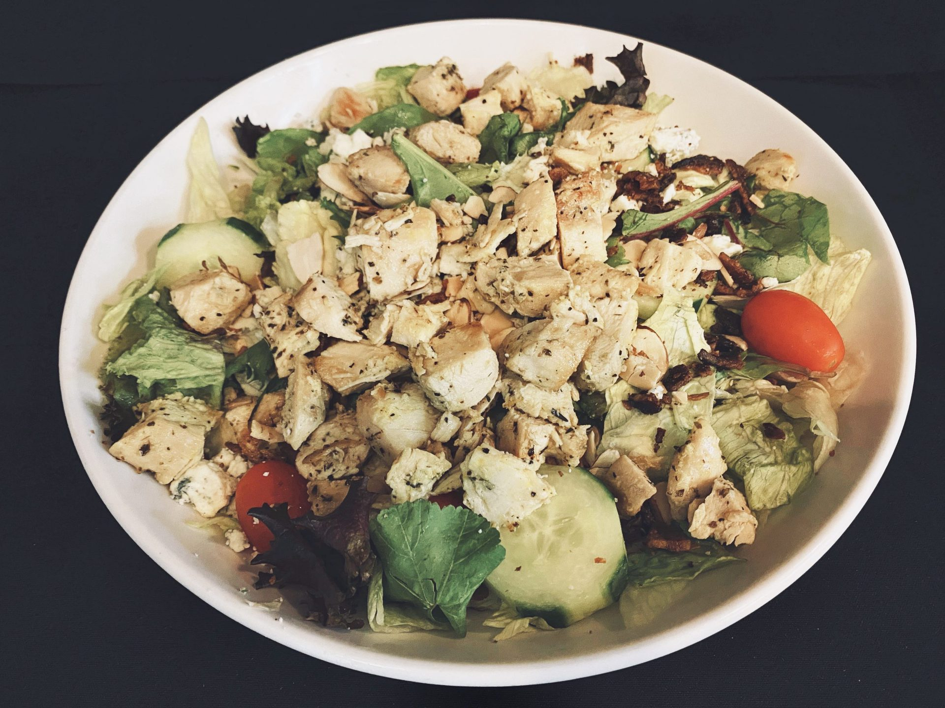Salad in a bowl.