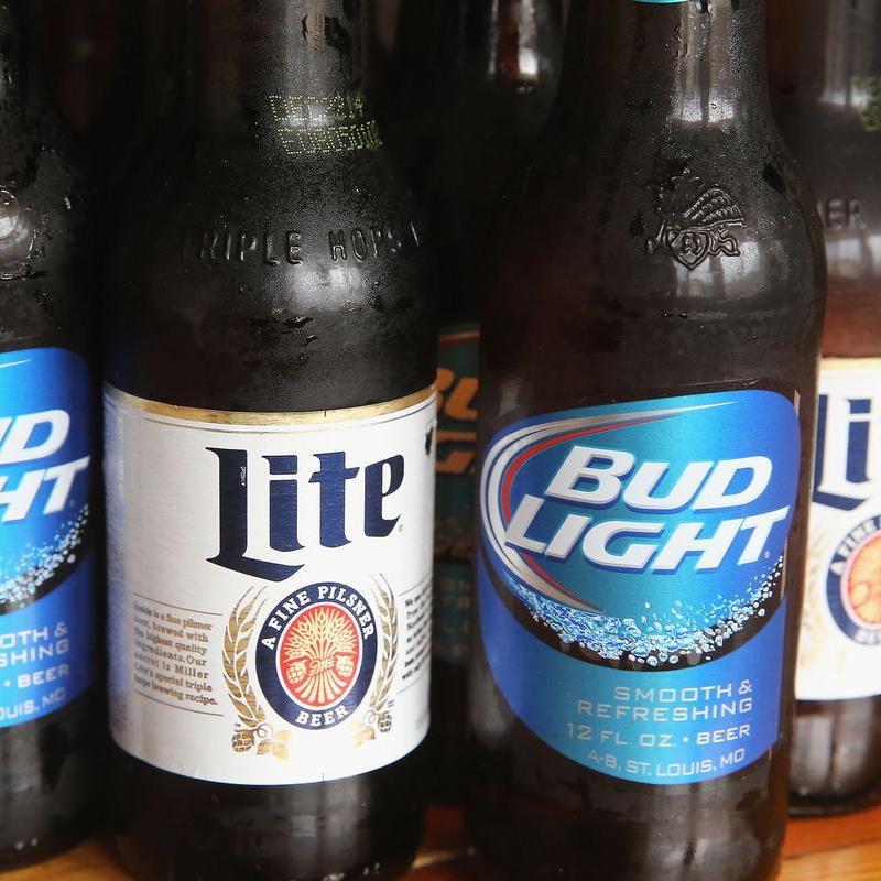 Bottles of beer.