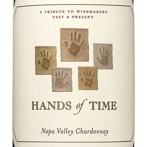 Graphic print of wine bottle.